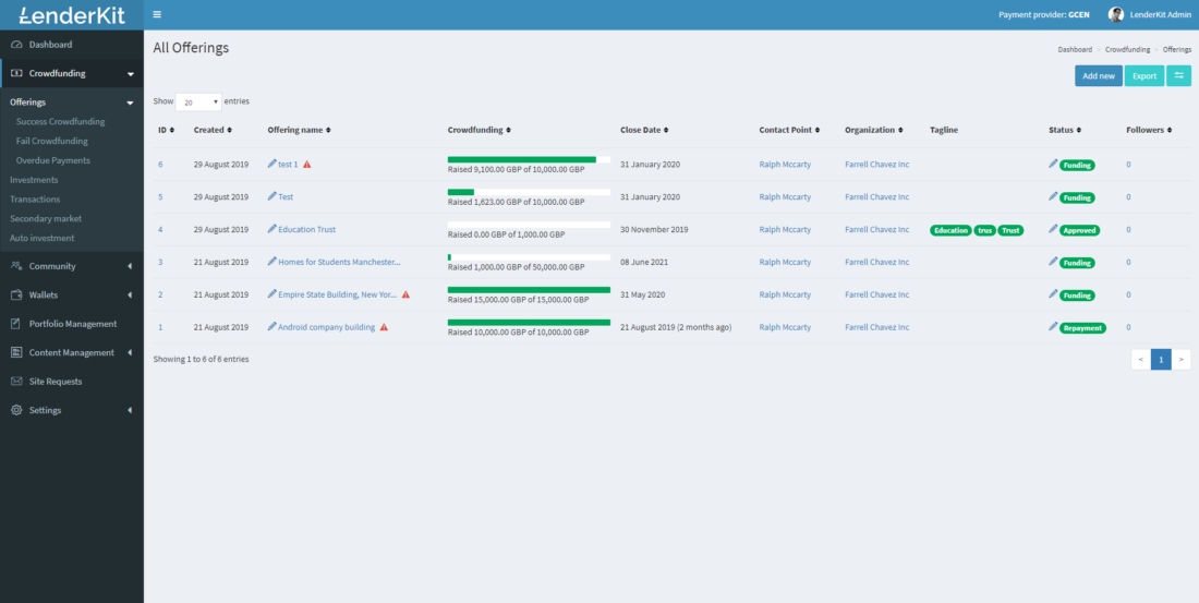 Custom-crowdfunding-platform-offerings-fields