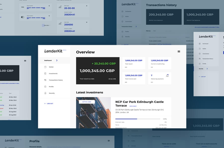 MVP-operational-frontend-LenderKit-crowdfunding-platform
