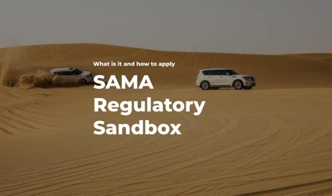 SAMA regulatory Sandbox cover