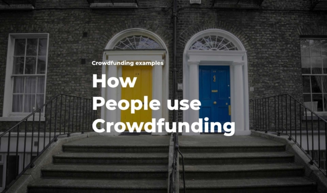 What can crowdfunding be used for
